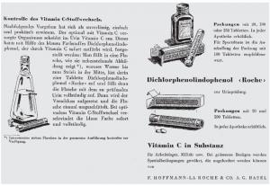 """Anleitung zur Therapierung der erdichteten """"C-Hypovitaminose"""" (Abb. nach Bächi 2009: 141)"""
